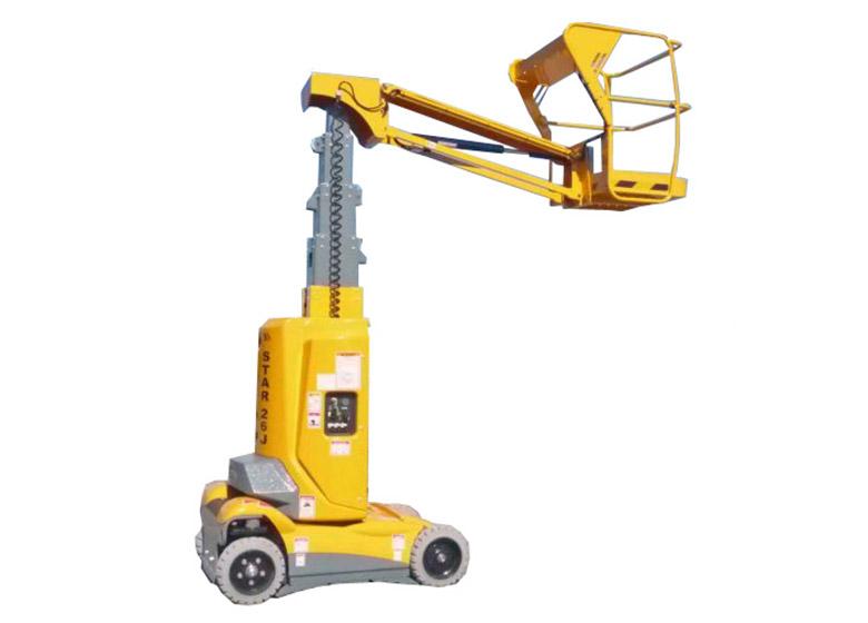 Vertical Boom Hoist Access Equipment Clem Hire